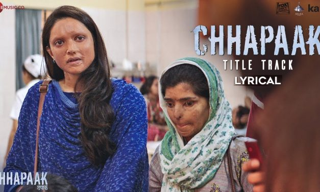CHHAPAAK LYRICS|Koi Chehra Mita ke Lyrics| छपाक LYRICS IN HINDI